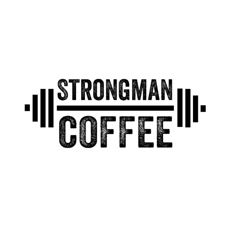 Strong Man Logo The concept is strongmanStrong Man Logo